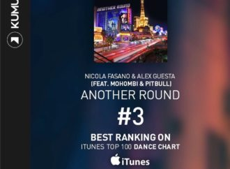 "Nicola Fasano pubblica ""Another Round"", in collaborazione con Pitbull, Alex Guesta e Mohombi"