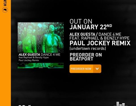 Paul Jockey remixa Alex Guesta ft Benzly Hype & Raphael – Dance 4 Me (promoted by Kumusic)