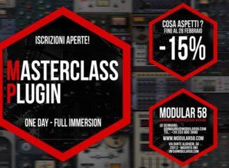 Modular 58 – Magenta (MI) presenta Masterclass Plugin (One Day). Fino al 28/02 sconto del 15%