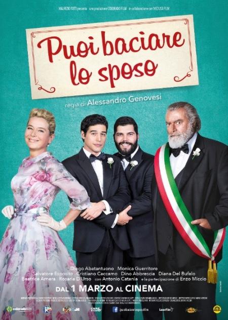 Al cinema dal 1 marzo Puoi baciare lo sposo, il film che affronta la scottante tematica delle unioni civili