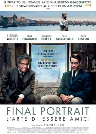 Final Portrait-L'arte di essere amici