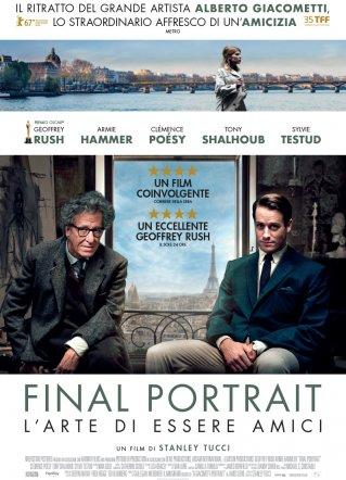 Sala Biografilm: al cinema Final Portrait-L'arte di essere amici