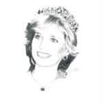 ritratto Lady Diana