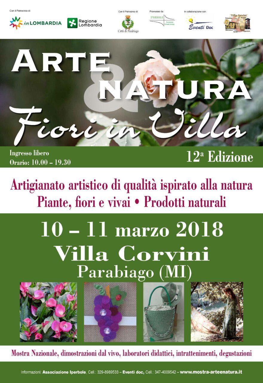 Parabiago, Villa Corvini: Arte & Natura
