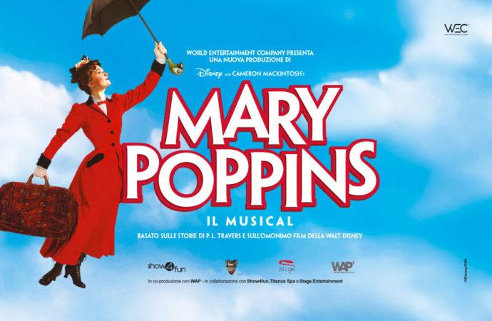 Il magico musical Mary Poppins in scena al Teatro Nazionale