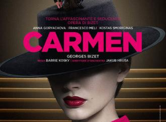 L'opera Carmen in diretta via satellite nei cinema solo il  6 marzo