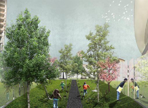 Per il Fuorisalone del Brera Design District nasce  Hidden Garden, un giardino segreto in Piazza Gae Aulenti