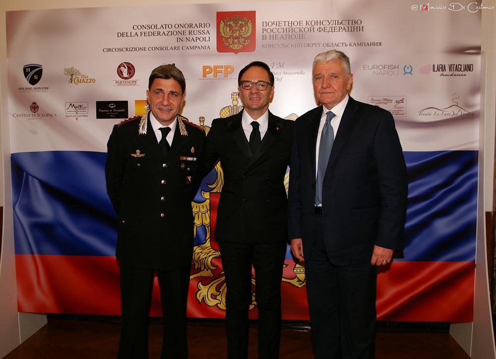 Una cena di gala del Consolato della Federazione Russa di Napoli per rafforzare l'export