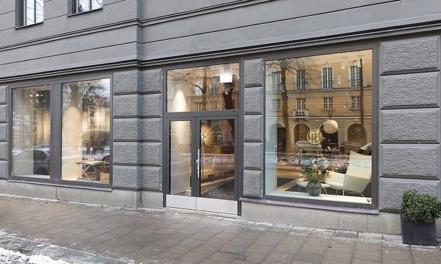 Carl Hansen & Son: il primo flagship store a Stoccolma