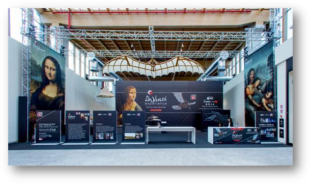 Mostra da Vinci Experience  presso IL CENTRO, mall di Arese