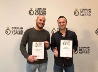 German Design Award: Matthias Gruber  vince il premio internazionale del design