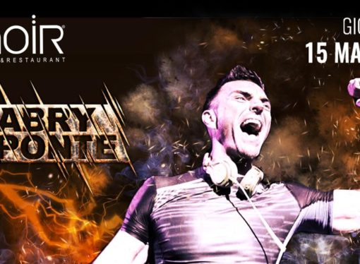 15/03 Gabry Ponte @ Noir Club & Restaurant – Lissone (MB)