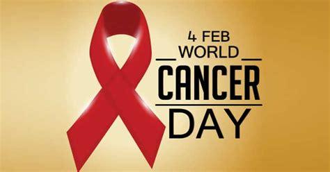 4 Febbraio 2018: World Cancer Day