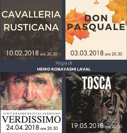 Con La Cavalleria Rusticana al via la Stagione d'opera 2018 del Teatro San Babila