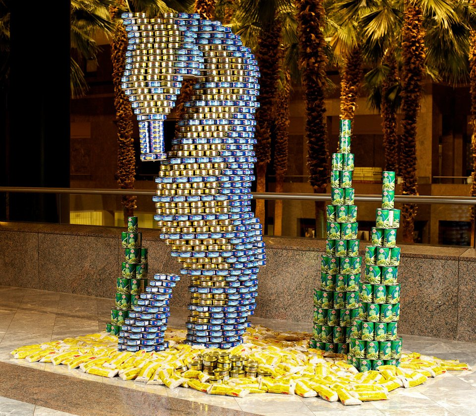 Metal Packaging Europe in partnership europea con Canstruction