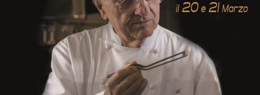 Al cinema  solo il 20 e 21 marzo il docu-film  su un grande della cucina italiana, Gualtiero Marchesi