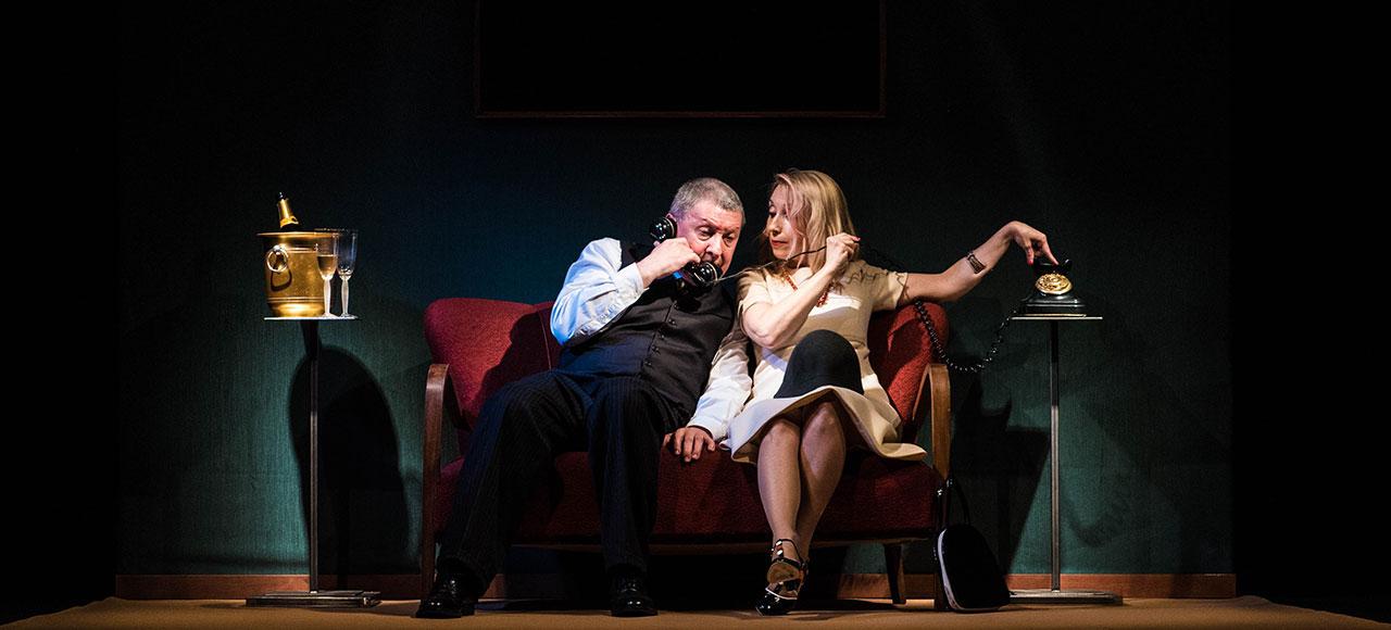 La pièce Montagne russe al Teatro Litta di Milano