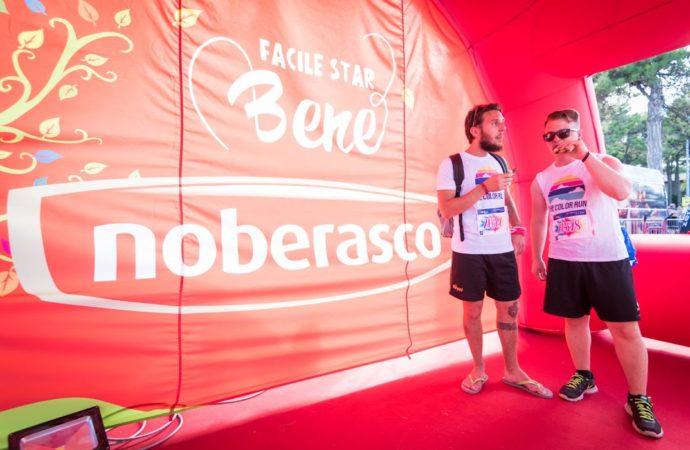 Con Noberasco  si corre alla The Color Run 2018