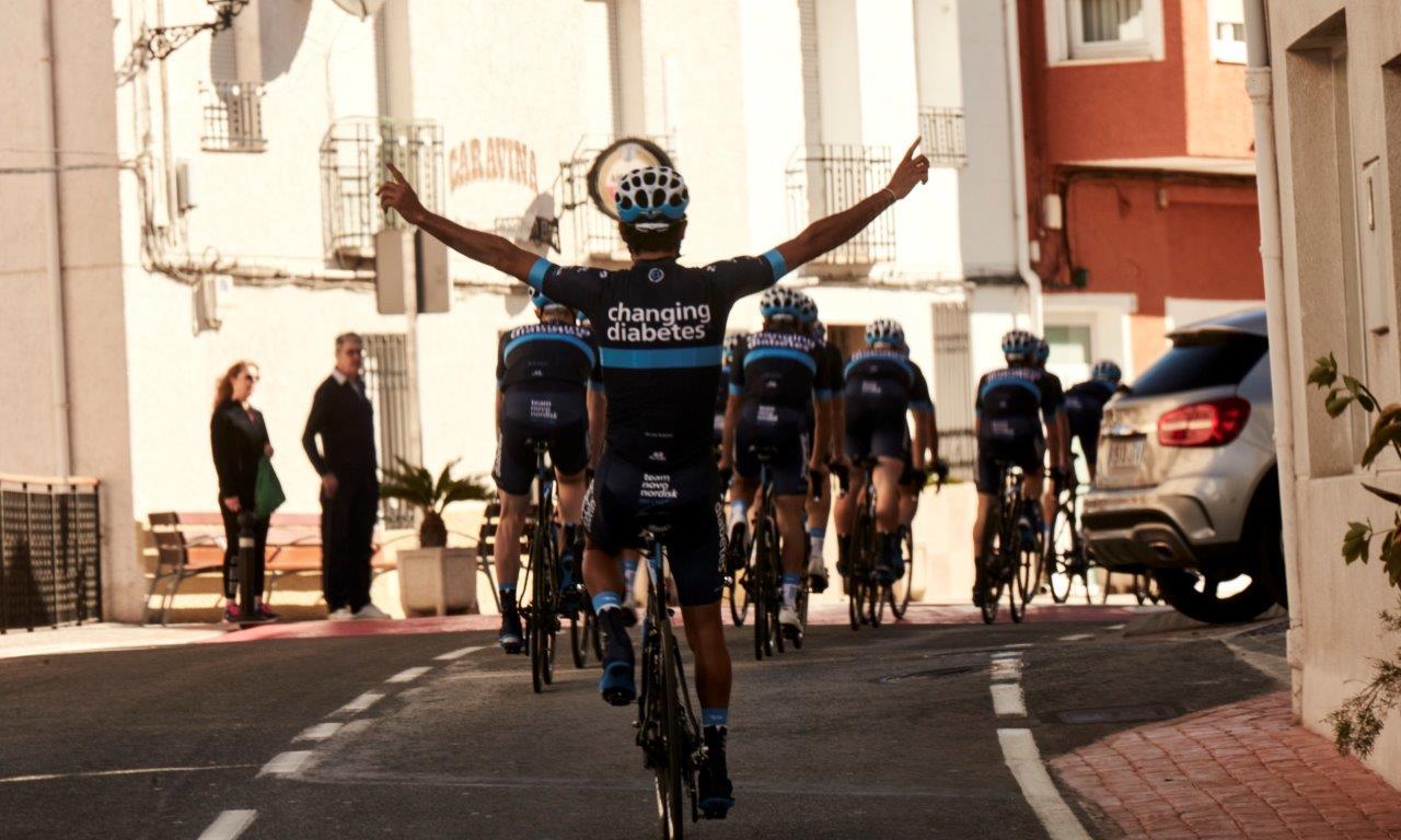 """Il Team Novo Nordisk alla Milano-Sanremo 2018 per la """"salute nella città"""""""