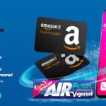Con Air Action Vigorsol Vinci un IphoneX a settimana e 1.000 Amazon cards al mese