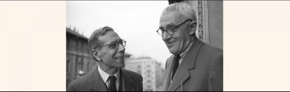 Lamberto Vitali e Giorgio Morandi a Milano