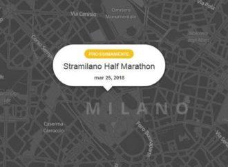 Stramilano 2018: la community di Waze indica le strade chiuse al traffico e le deviazioni di percorso