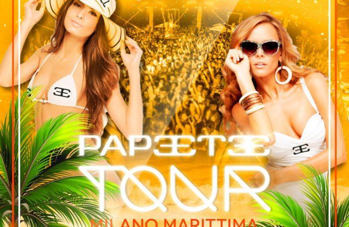 10/03 Papeete Tour @ Nikita #Costez – Telgate (BG), 9/3 Woman Power @ Hotel Costez – Cazzago (BS)