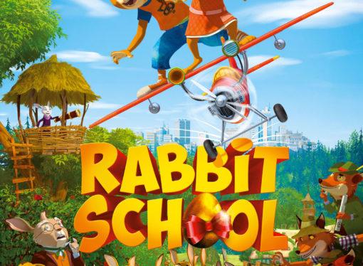 """Al cinema  il divertente film d'animazione """"Rabbit School – I Guardiani dell'Uovo d'Oro"""""""