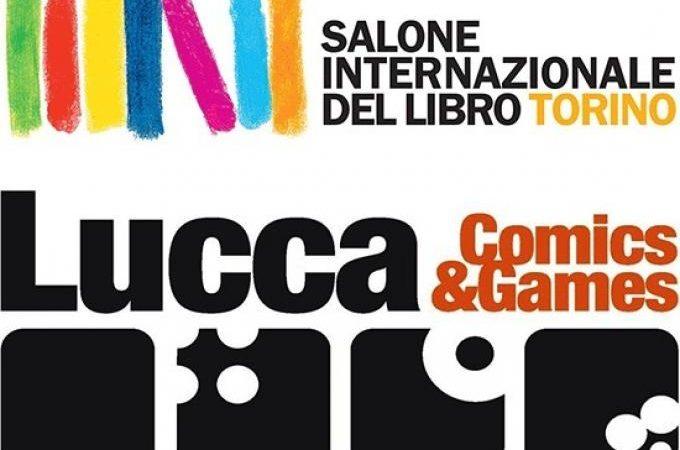 Nasce la partnership tra Lucca Comics & Games e  Salone del Libro di Torino