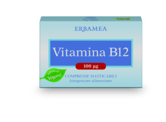 Vitamine, Minerali & Antiossidanti: Erbamea presenta Vitamina B12, la vitamina dell'energia