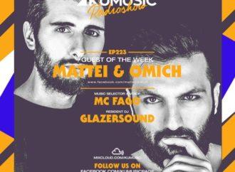 Kumusic Radio Show: al mixer dell'episodio 223 arrivano Mattei & Omich