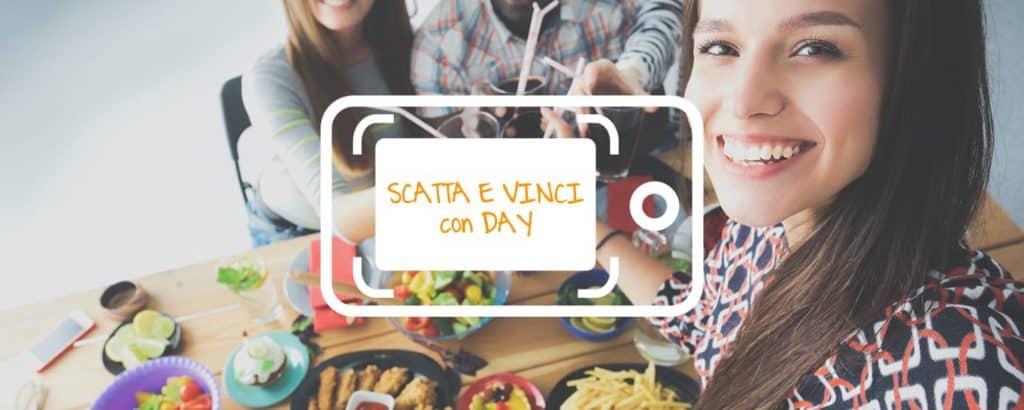 """Nuovo contest fotografico online """"Scatta e vinci  con Day"""""""