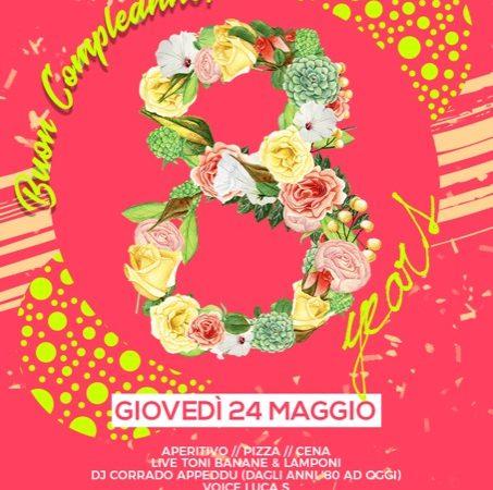24 maggio 2018: Buon compleanno Molto Club & Restaurant!