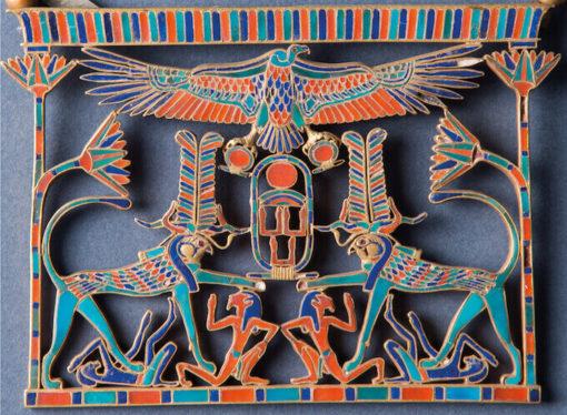 La mostra l'Oro dei Faraoni. 2500 anni di oreficeria nell'Antico Egitto