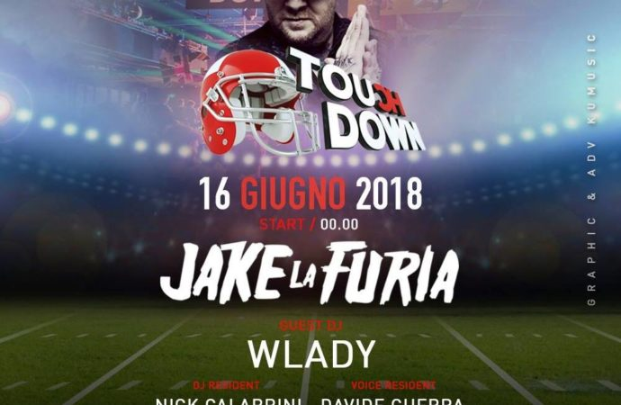 16 giugno '18, Touch Down Ibiza fa scatenare Mulino Lounge & Disco – Borghetto di Borbera (AL) con Jake la Furia, Wlady, Dj Dropsy, Cece Mc