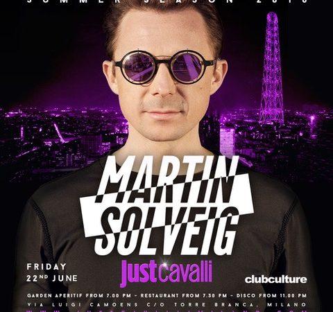 Martin Solveig @ Just Cavalli – Milano