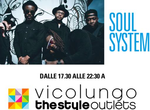 Arisa, Michele Bravi e Soul System in concerto a Vicolungo The Style Outlets