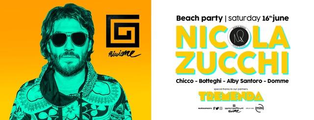 16 giugno – Nicola Zucchi @ Samsara Beach – Riccione