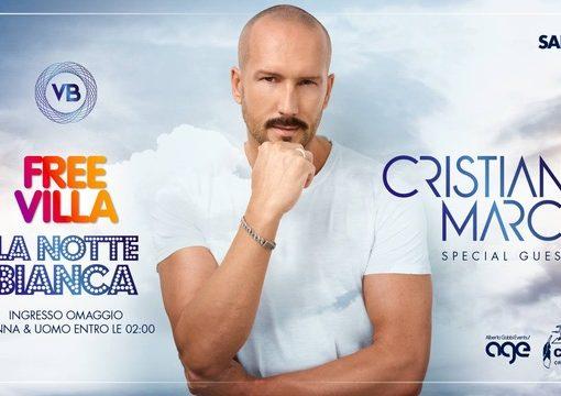 30/06 Cristian Marchi @ Villa Bonin per Free Villa – La Notte Bianca