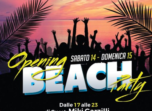 Adriatique – Civitanova Marche (MC): beach party ogni weekend dal 14 luglio '18