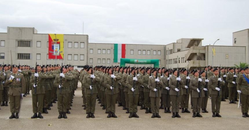 """Venerdì a Capua  la cerimonia del  Giuramento dei Volontari  del reggimento addestramento """"Acqui"""""""