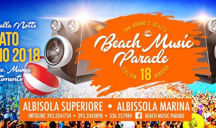 Beach Music Parade sabato 14 luglio fa scatenare Albisola Superiore e Albissola Marina