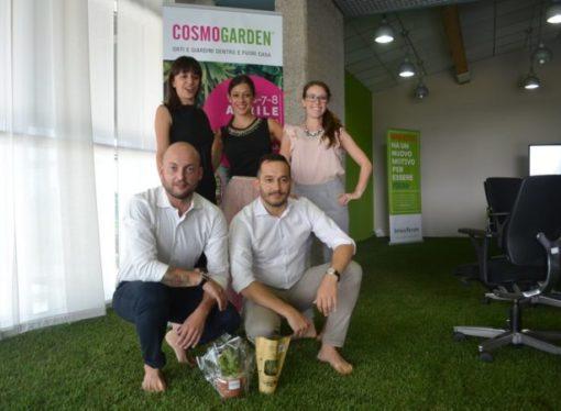 Arriva Cosmogarden:  la fiera di Brescia si fa giardino