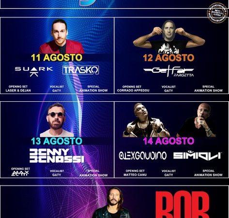 GAMF Golfo Aranci Music Festival 2018 (V Edizione). Sul palco Bob Sinclar, Benny Benassi, Alex Gaudino, Get Far Fargetta… a costo zero