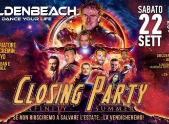 22/09 Golden Group chiude ai Golden Beach di Albisola (SV) una stagione eccellente