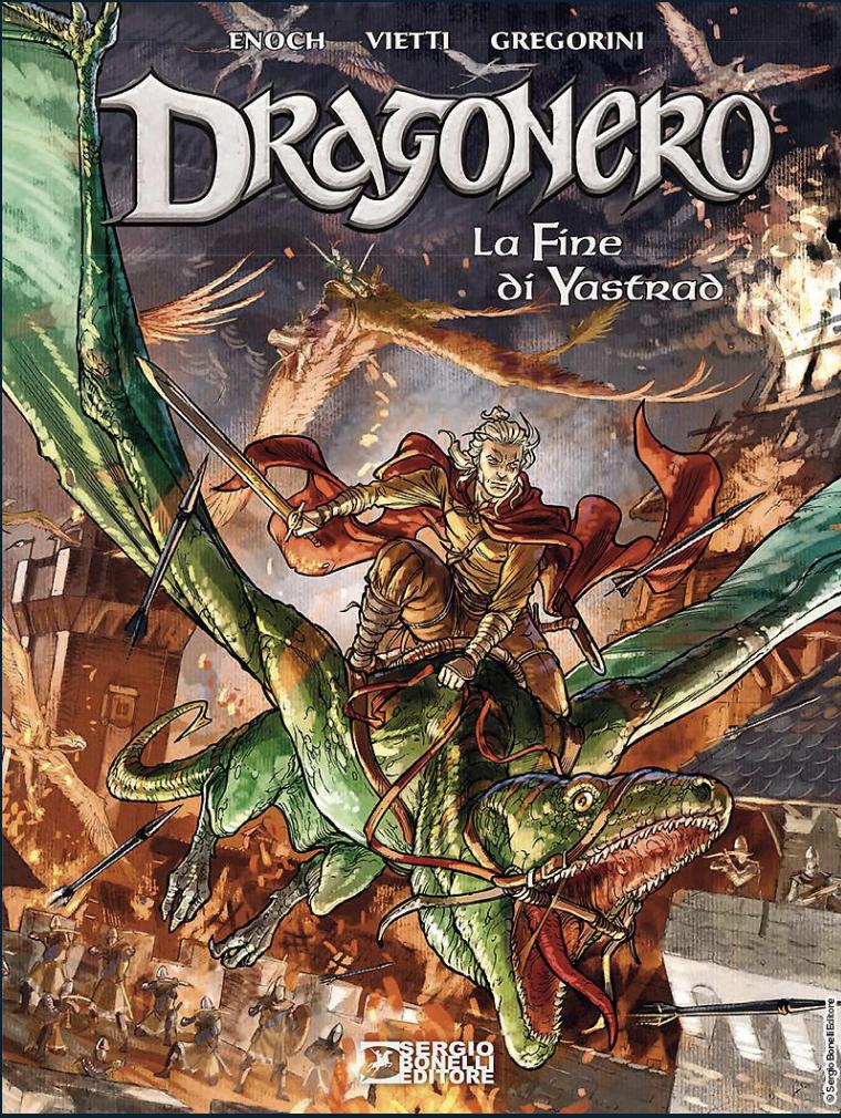 In libreria torna Dragonero - La fine di Yastrad