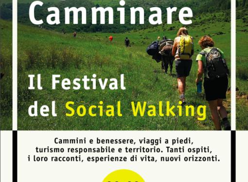 Seconda edizione 2018 Camminare. Il Festival del Social Walking