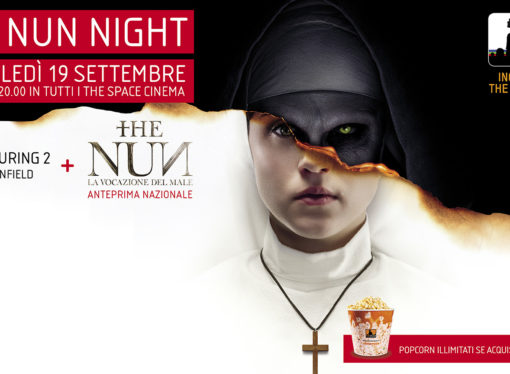 Horror Night nei cinema The Space: doppio appuntamento con The Conjuring 2 e l'anteprima di The Nun – La Vocazione del Male
