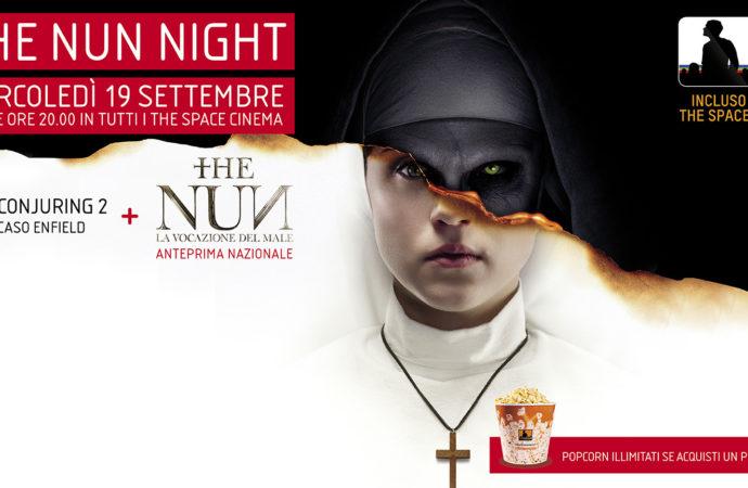 Horror Night nei cinema The Space: doppio appuntamento con The Conjuring 2 e l'anteprima di The Nun – La Vocazione del Male