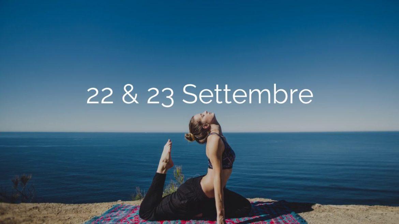 Il 22 e il 23 settembre benessere gratis con il World Wellness Weekend
